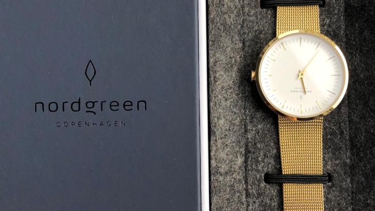 ミニマムなシンプル腕時計Nordgreen(ノードグリーン)をみる